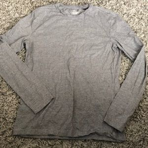 H&M gray long sleeve shirt